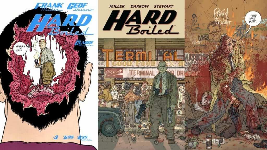 Dark Horse Releases Eisner Award Winner Hard Boiled in Hardcover