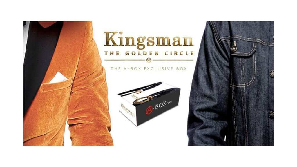 A-Box is Offering an Exclusive Kingsman: The Golden Circle Mystery Box