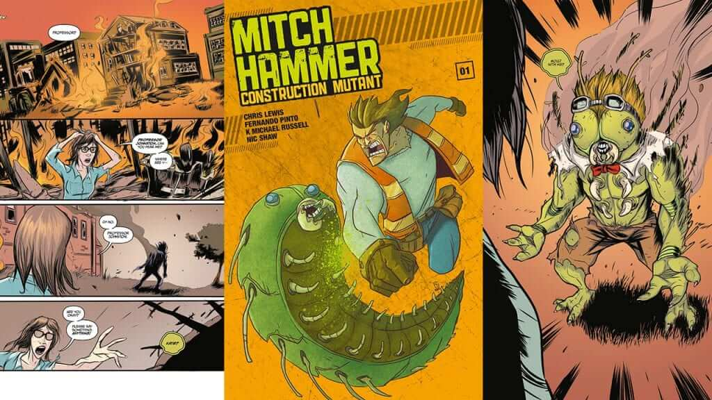 Back the First Installment of Mitch Hammer on Kickstarter for just $1