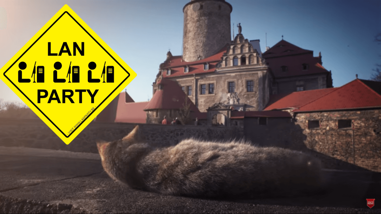 A Massive 32 Nation, 5 Day LAN Party is About to Occur in a Polish Castle