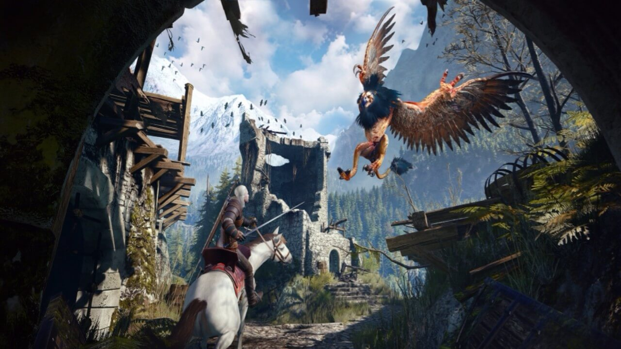 The Witcher 3 Going 4K on Consoles This Year