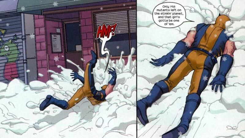 Runaways Molly Hayes Dunks On Wolverine