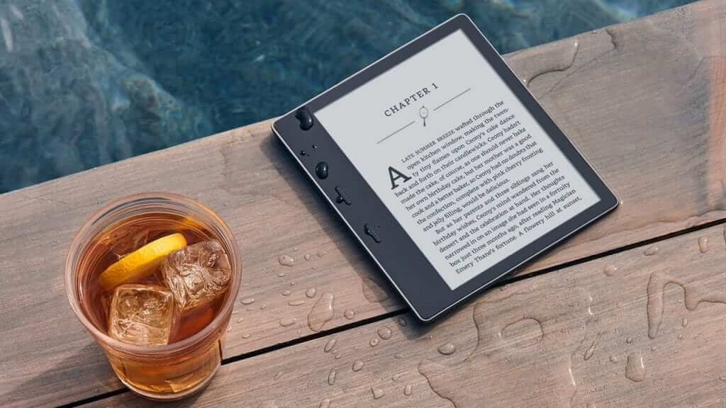 Amazon Introduces Water Proof Reading With the Next Kindle Oasis