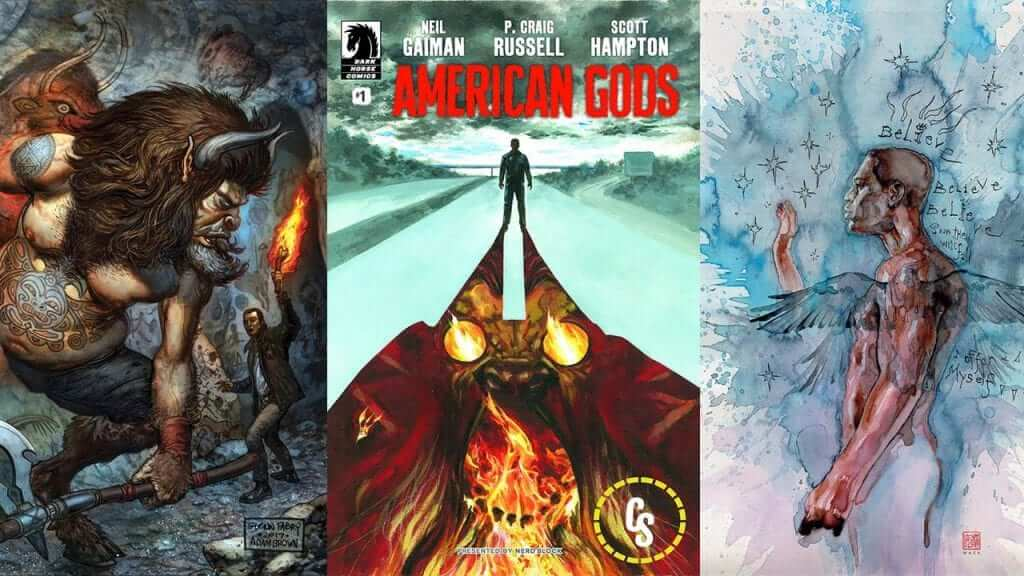 American Gods Returns to Comics for a Second Arc March 2018
