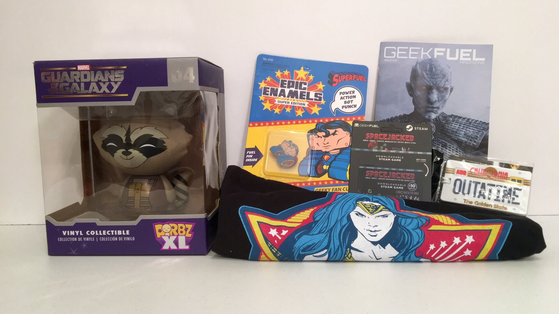 Geek Fuel:  An Extra Large Edition of Geeky Goodness - Review