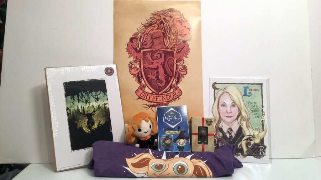 Geek Gear World of Wizardry: A Harry Potter Themed Box - Review
