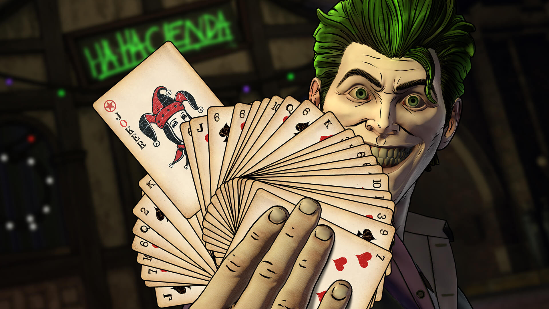 Joker Batman: The Enemy Within