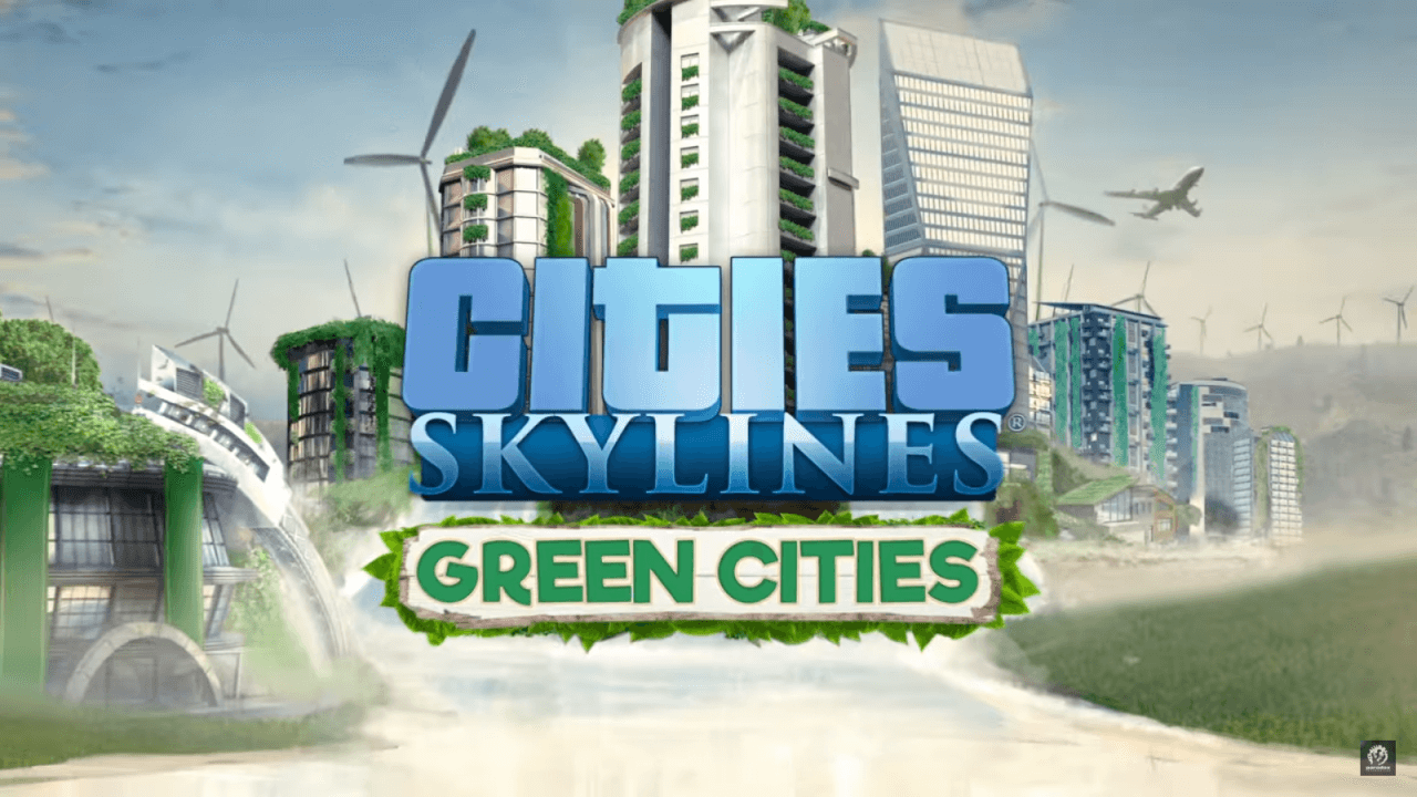 Cities: Skylines - Green Cities Cleans Up the Streets this October
