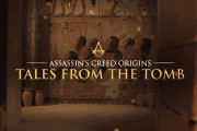 Assassin's Creed: Origins Releases a Comical Trailer from it's Crypts