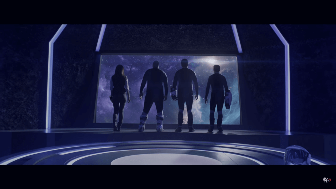 Roosterteeth's Lazer Team 2 Teaser Shows the Squad Traveling Into Space