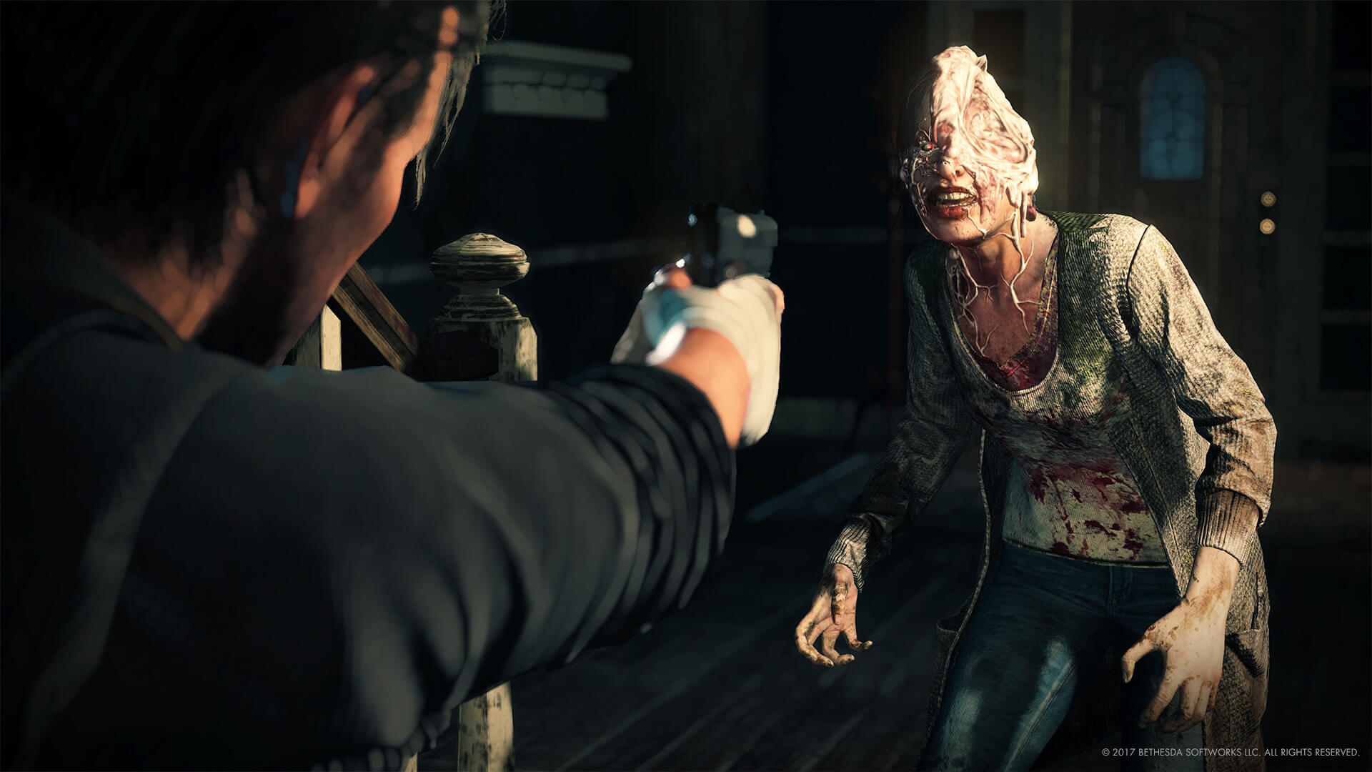 The Evil Within 2 Launch Trailer Runs Red