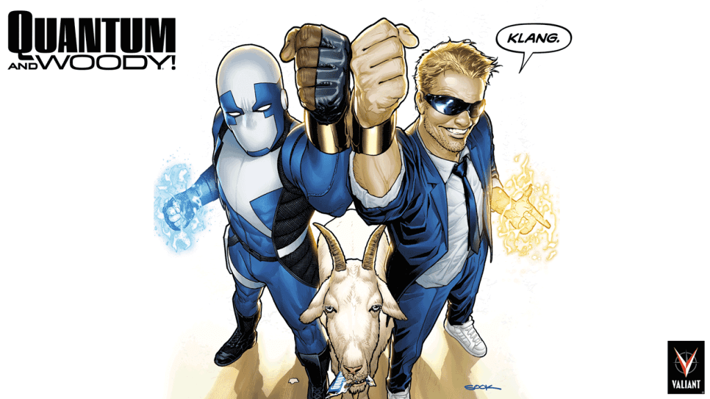 A Former Colbert Writer is Releasing a Comic Called Quantum and Woody