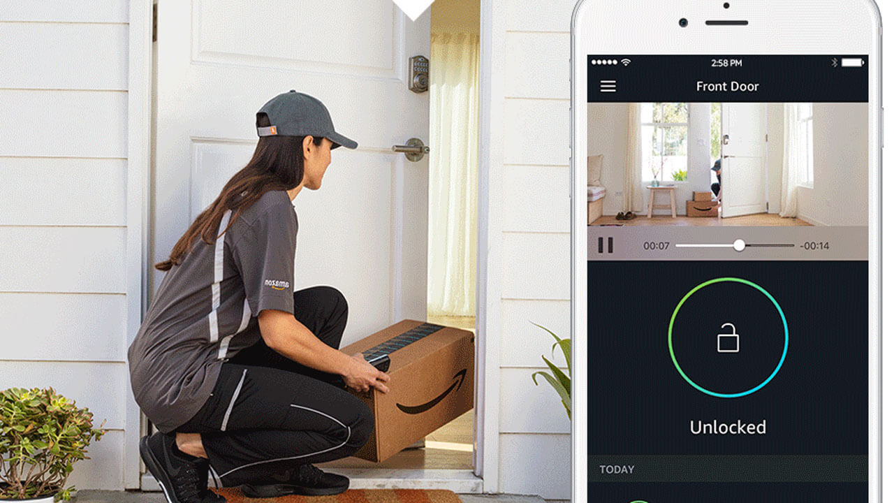 Amazon Key To Solve Missed Packaged Woes But Raises Security Issues How Build Electronic Door Will The Problem May Raise