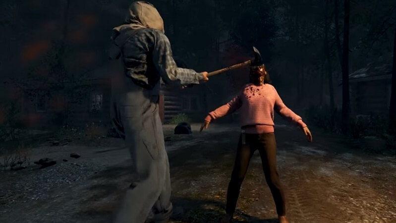 Friday the 13th game Jason kills counselor
