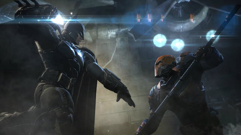 Deathstroke v Batman