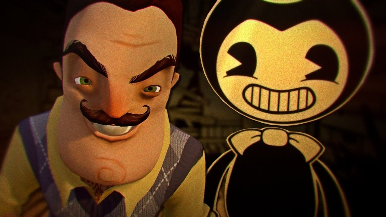 Hello Neighbor and Bendy and the Ink Machine Crossover Now Available