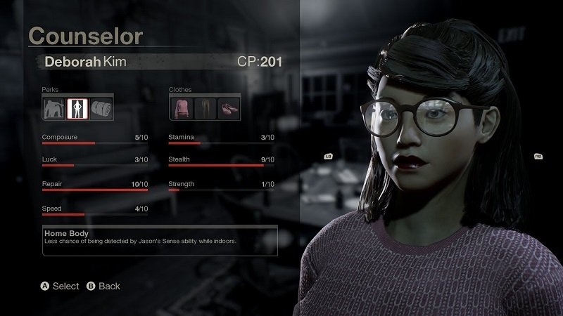 Friday the 13th counselor customization