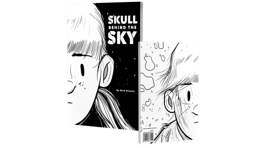 Skull Behind The Sky: The Wordless Mystery Comic
