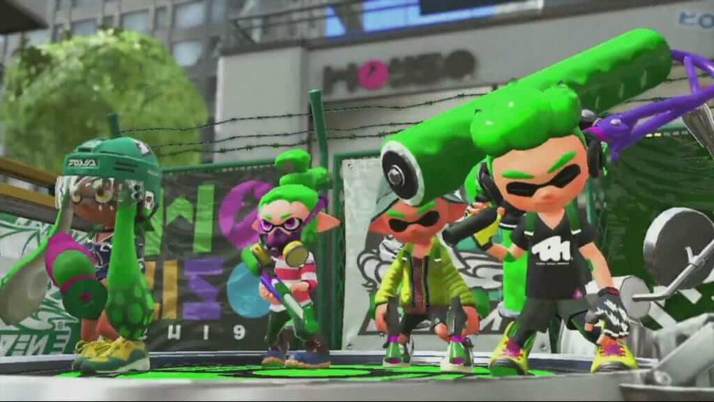 Splatoon 2 Update Brings Numerous Fixes and Changes