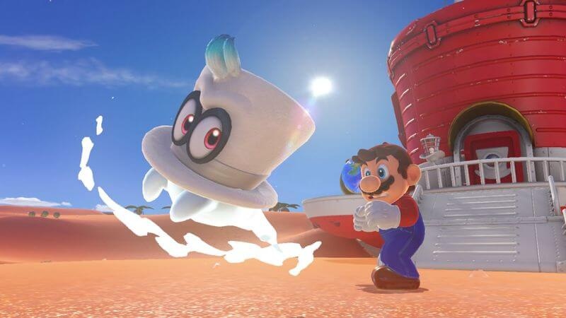 Super Mario Odyssey: How to Get Gold Mario