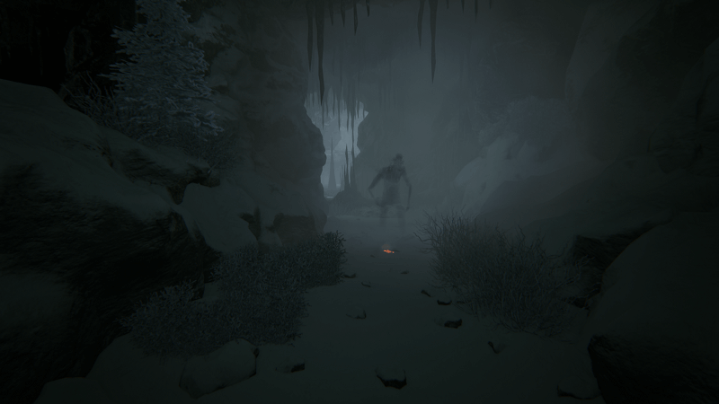 Mysterious shadow figure in Kholat