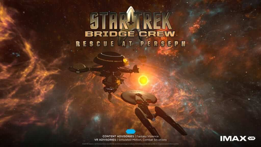 Ubisoft Reveals Star Trek: Bridge Crew Rescue at Perseph for IMAX VR