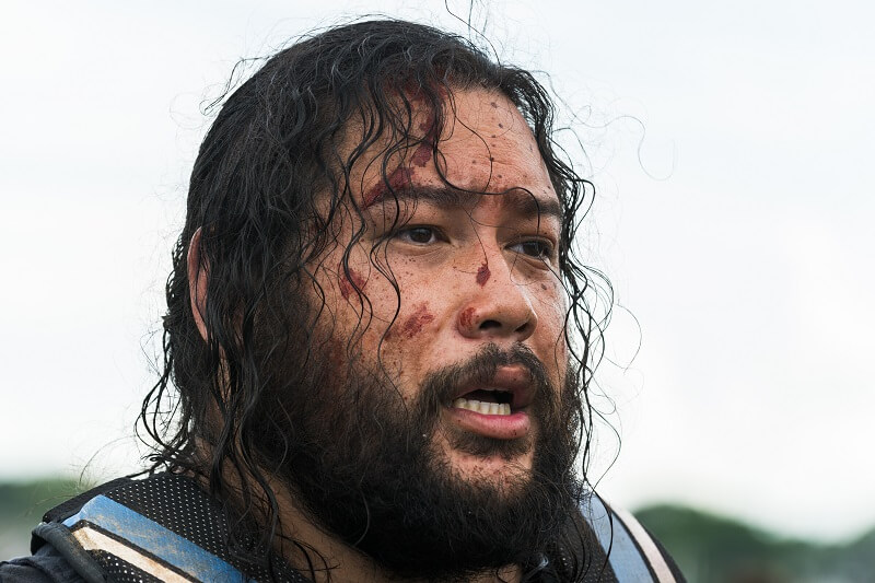 Cooper Andrews as Jerry - The Walking Dead _ Season 8