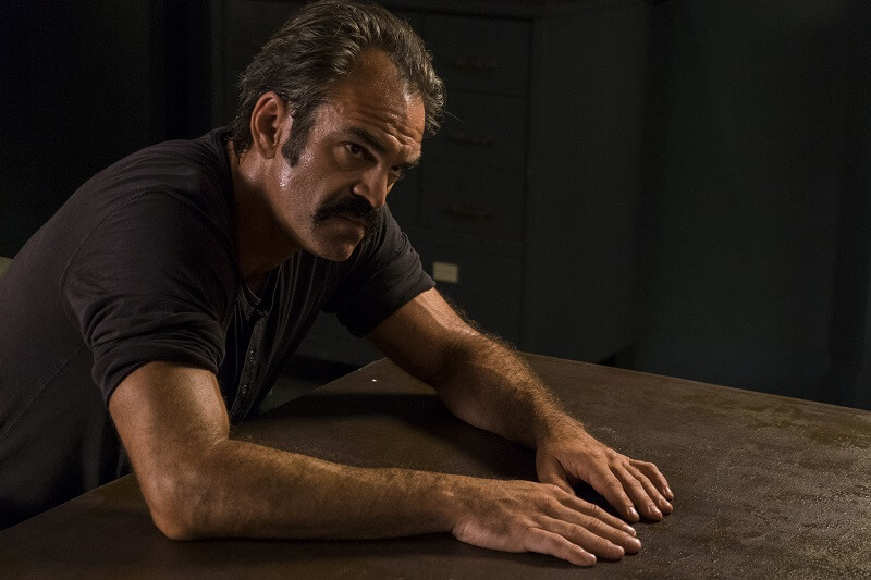 Steven Ogg as Simon - The Walking Dead _ Season 8