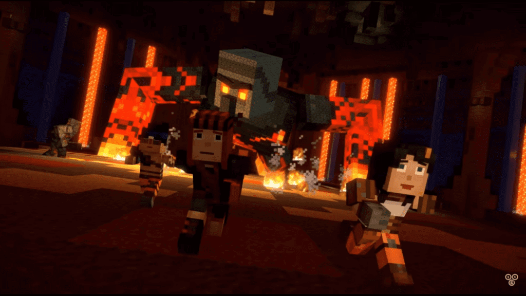 Minecraft: Story Mode Season 2's Episode Four Trailer Gets Spooky