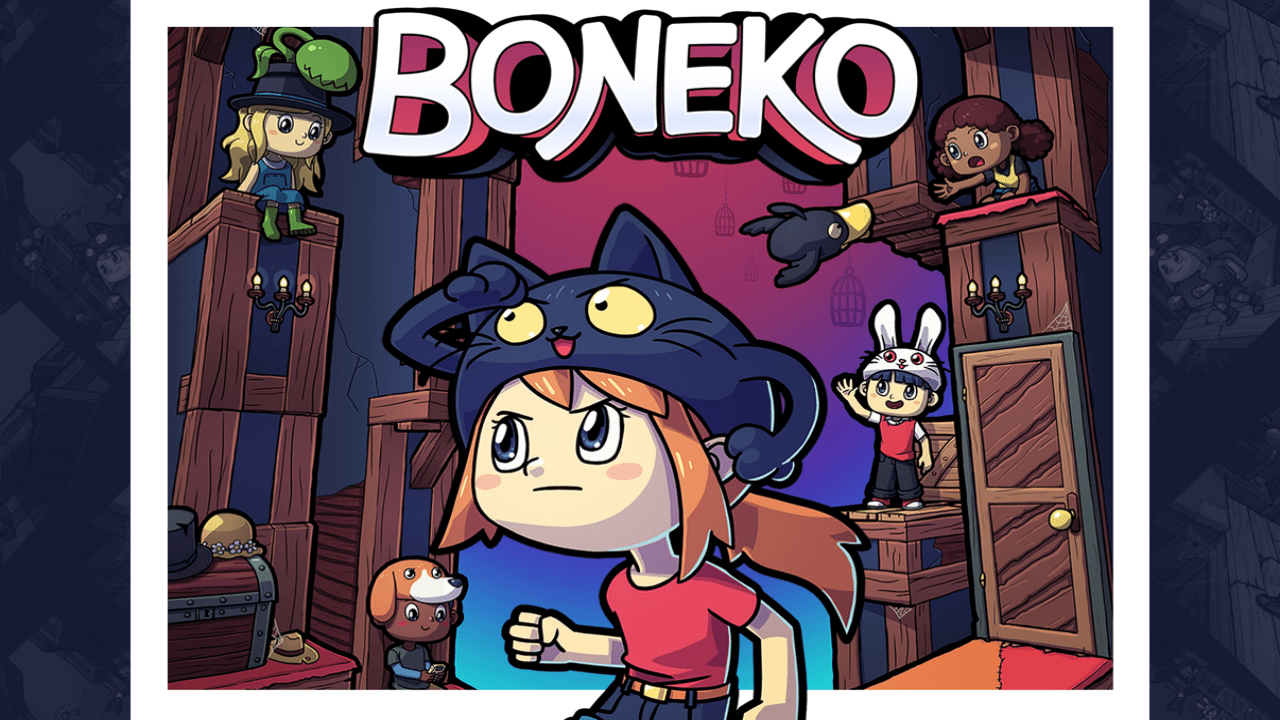 Wear Your Cat as a Hat in the Upcoming Indie Platformer Boneko