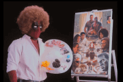 Deadpool Channels His Inner Bob Ross in the Deadpool 2 Teaser