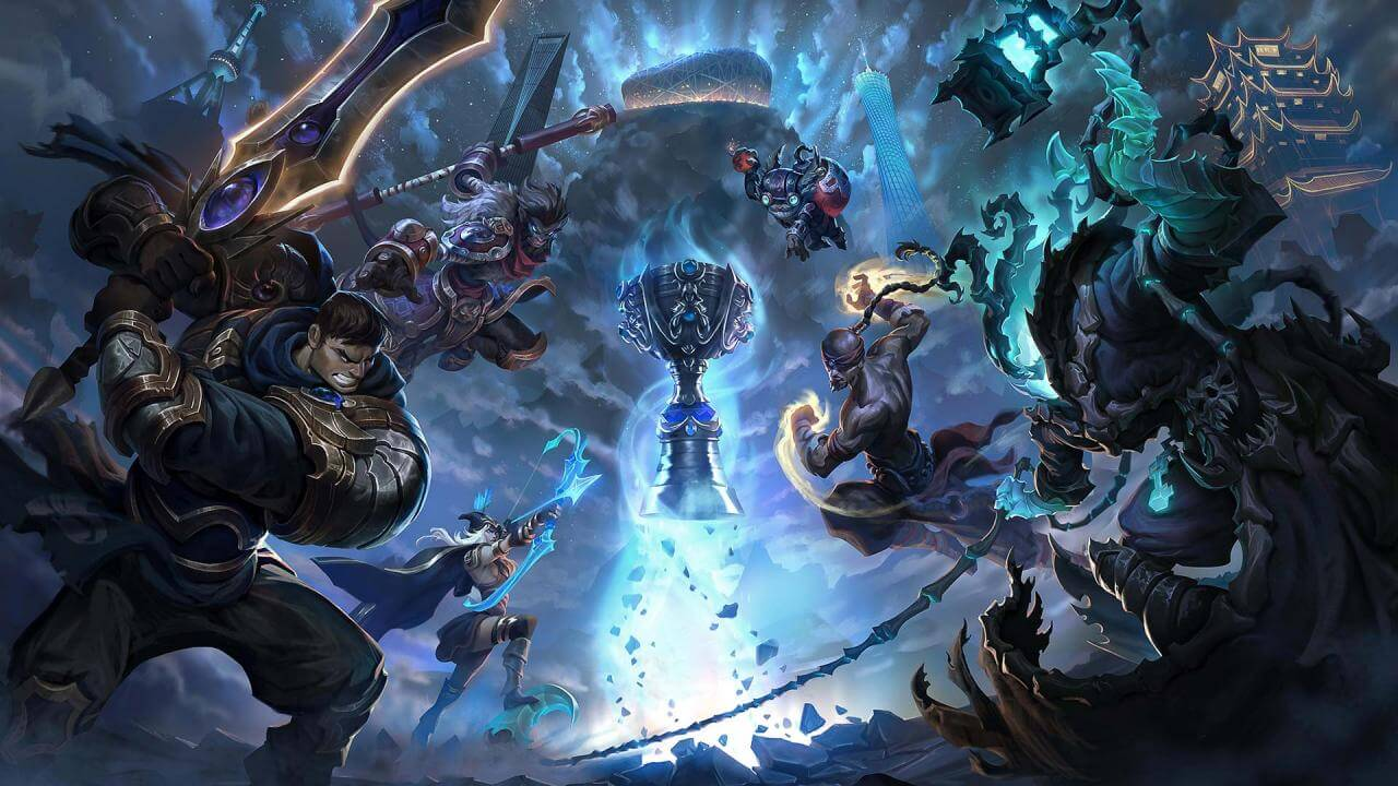 Riot Games Raises $2.35 Million For Charities During Worlds 2017
