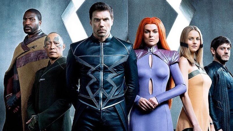 New Warriors Meet Inhumans?