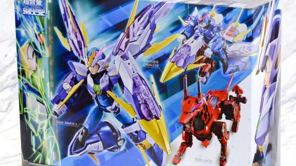 Mega Man X Giga Armor Figure Rises Again