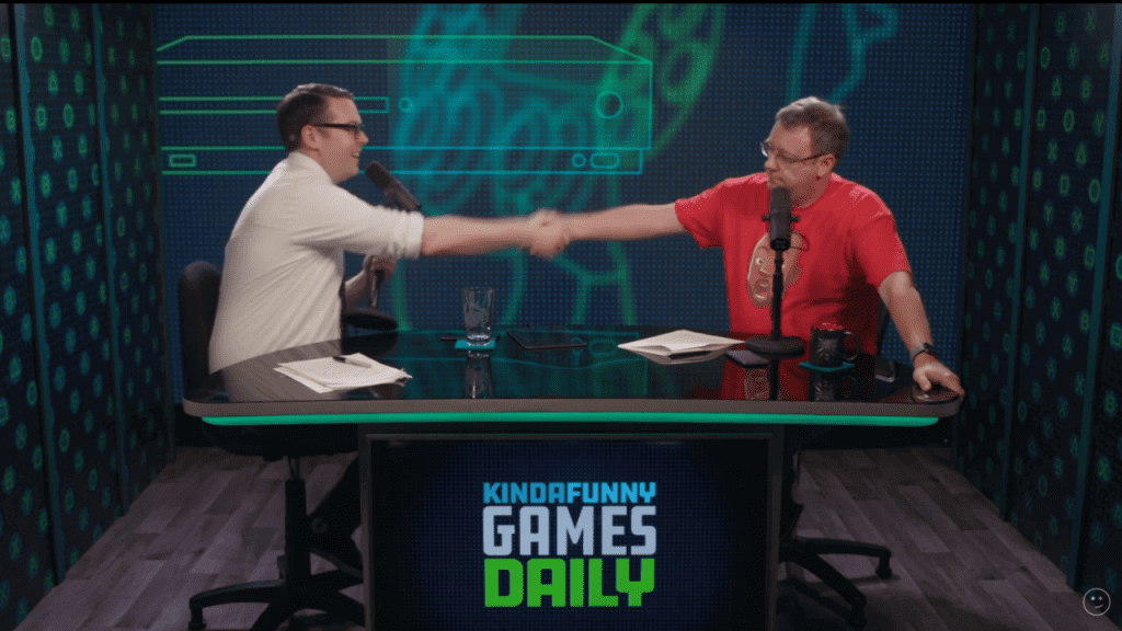 Gary Whitta Joins Kinda Funny Games Daily as an Official Host