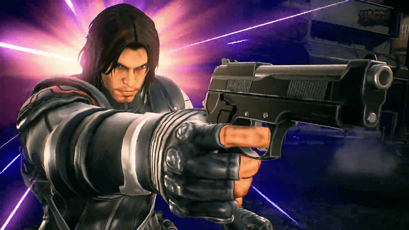 Black Widow, Venom & Winter Soldier Attack in Marvel Vs. Capcom: Infinite Trailer