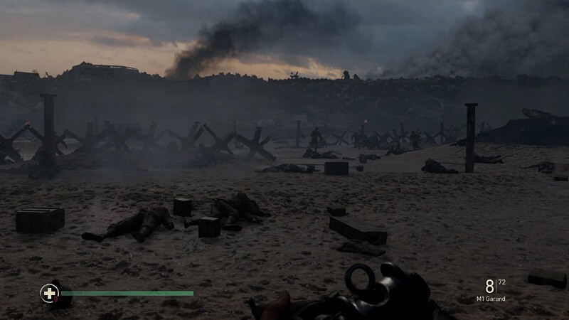 Call of Duty: WWII Beach landing at Normandy