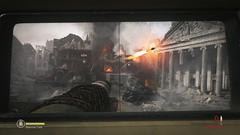 Call of Duty: WWII Tank Gameplay