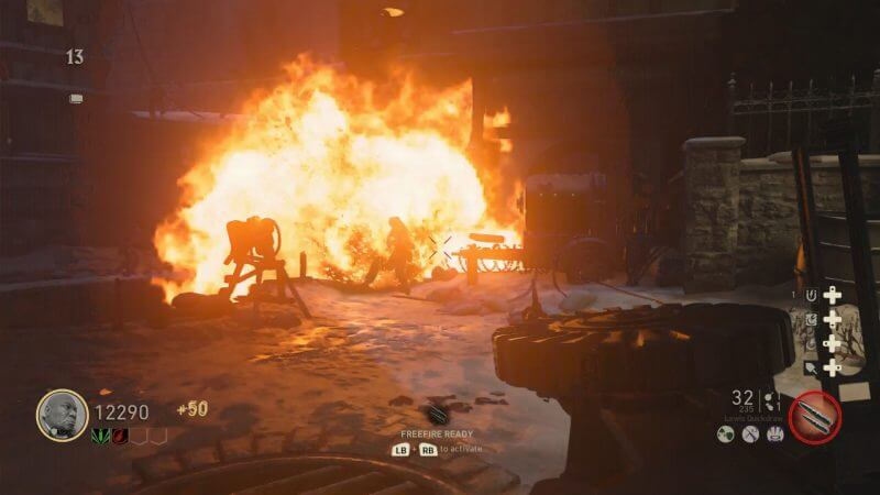 Call of Duty: WWII Nazi Zombies Gameplay