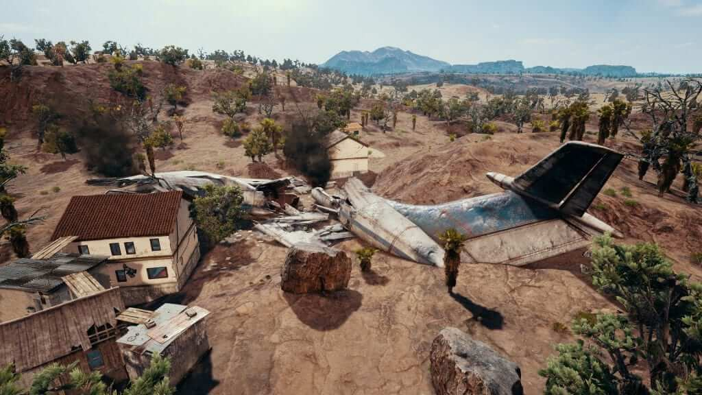 PUBG New Desert Map Available