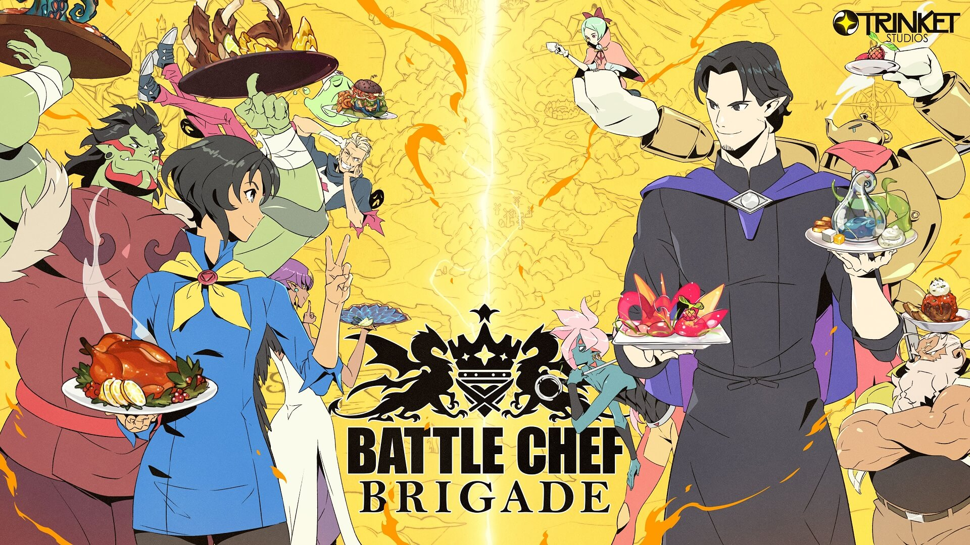 Battle Chef Brigade: Winter's Most Unique Switch Title