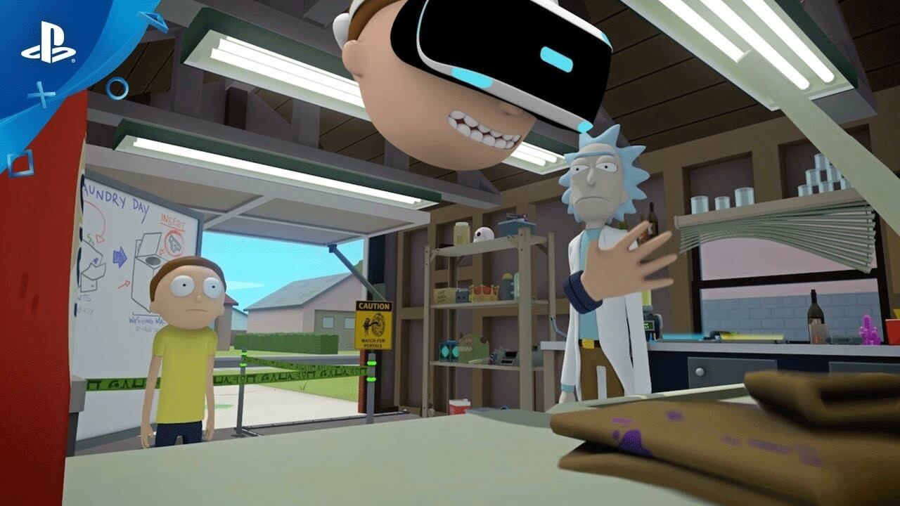 PSX 2017: Rick and Morty: Virtual Rick-ality is Coming to PS VR in 2018