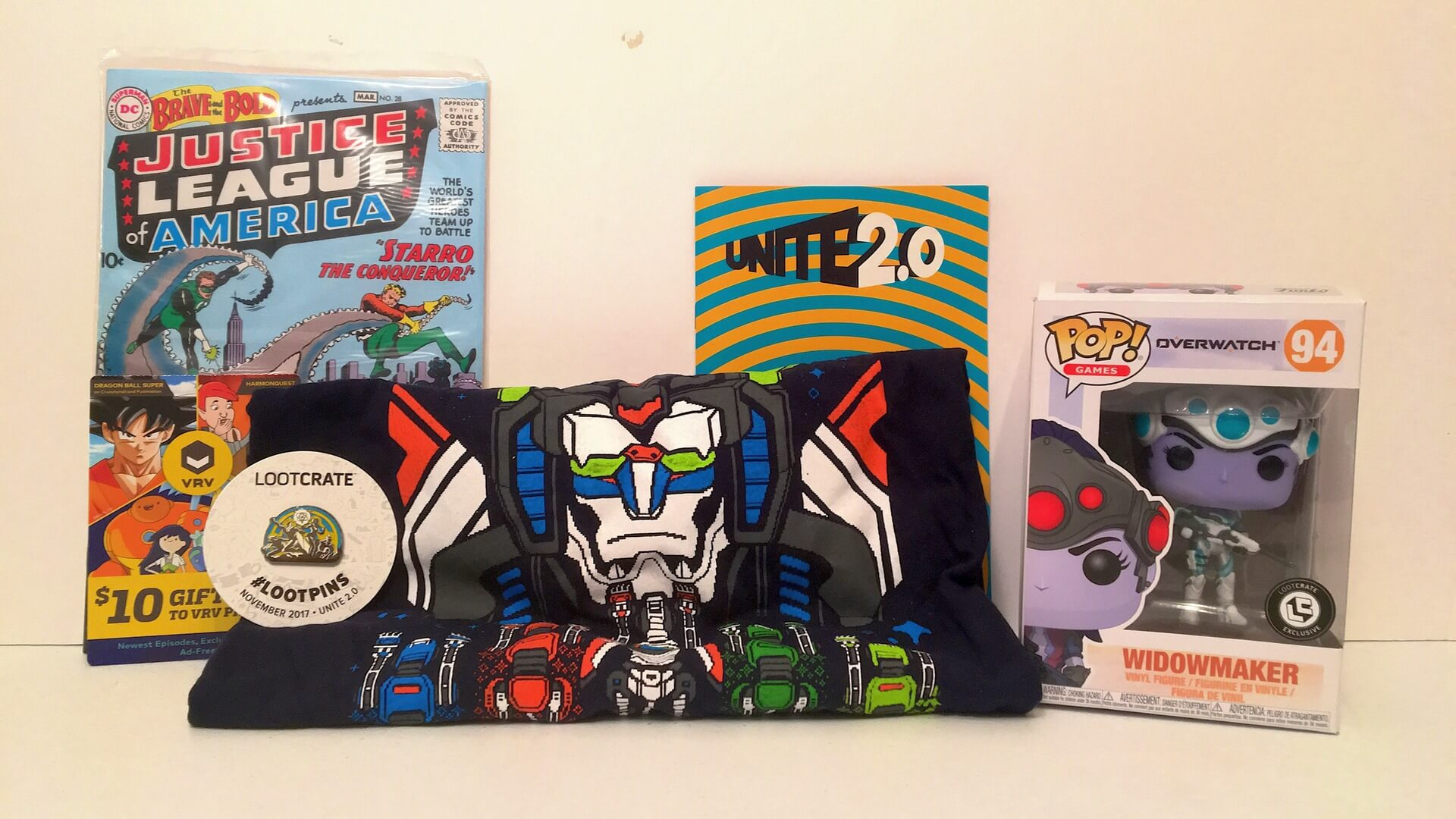 Loot Crate:  Unites with Overwatch, Power Rangers and More - Review