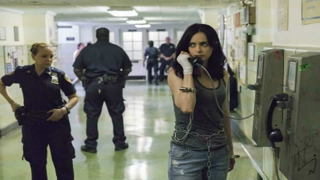 Why is Jessica Jones Under Arrest in the Season Two Promo Images?