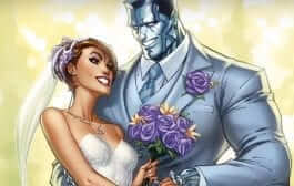Wedding Bells Ring for X-Men, Kitty Pryde and Colossus