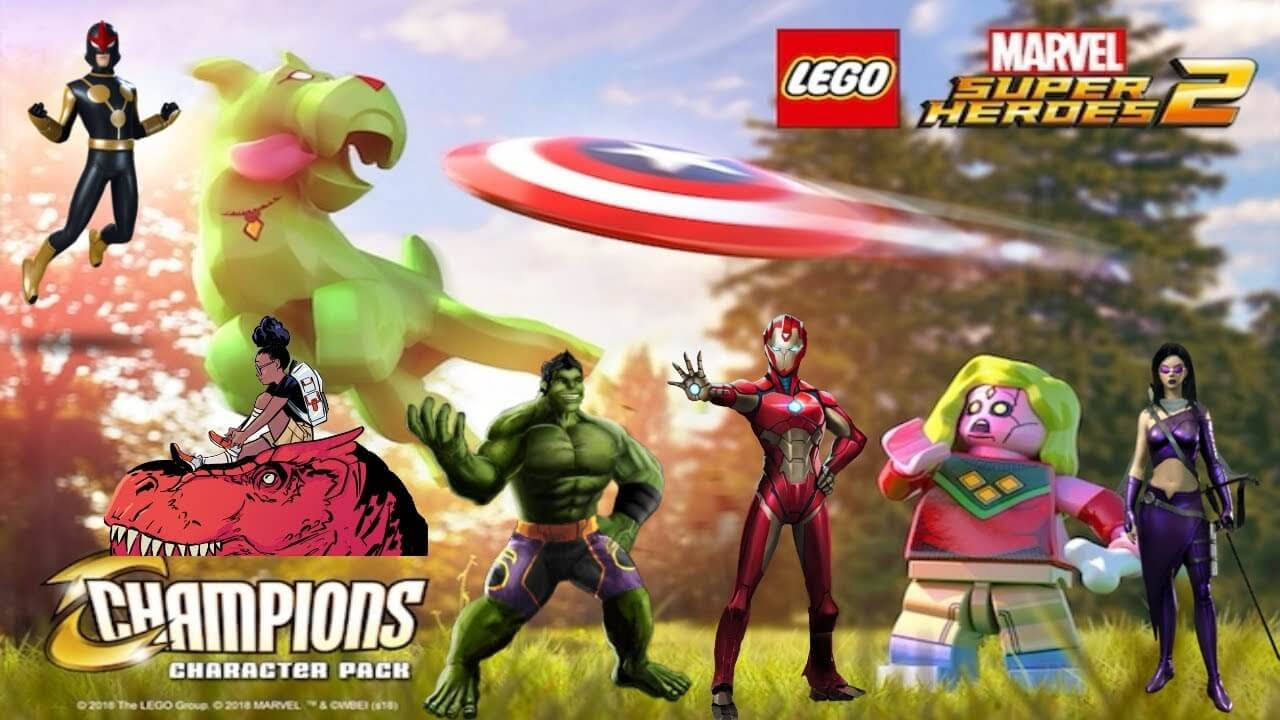 New Character Pack For LEGO Marvel Super Heroes 2