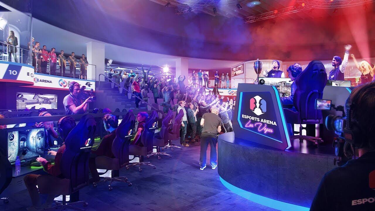 Las Vegas Welcomes eSports Arena