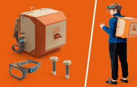 Cardboard Origami and a Switch? Introducing Nintendo Labo