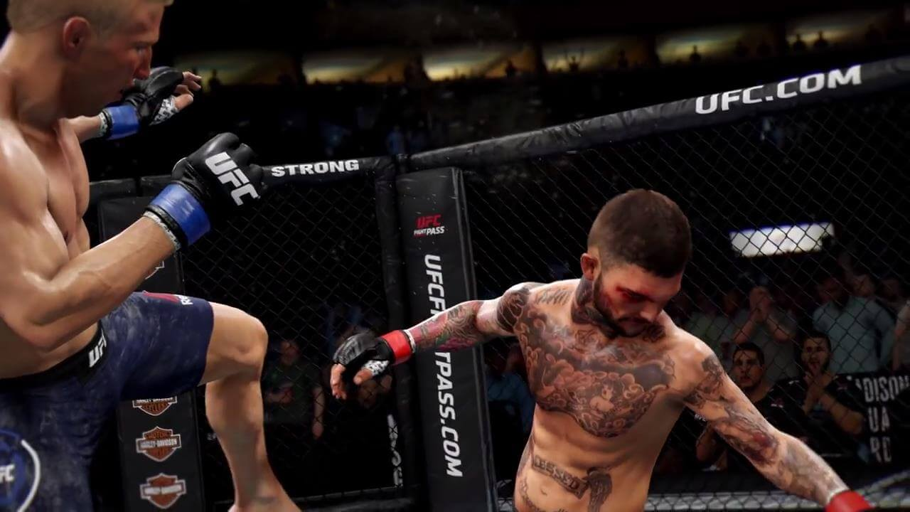 EA Sports UFC 3 Shows Off A Full Career