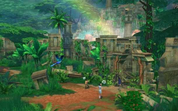 The Sims 4 Takes A Wild Turn in the Jungle Adventures Expansion Pack